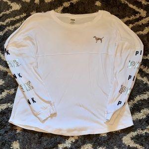 VS Pink Lightweight Sequin Dog Shirt